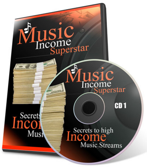 Product picture Resale Rights! Music Income Superstar - MP3 Interview